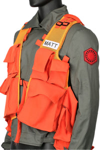 Star Wars Related SNL Matt The Radar Technician Vest With Small Bags Cosplay Props One Size
