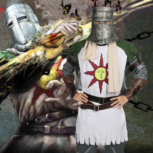 Dark Souls Solaire Costume Forever Sun Warrior Cosplay Costume - Xcoser Costume