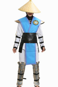 Mortal Kombat Raiden Armor Outfit Game Cosplay Outfit