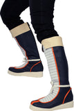 Xcoser Dragon Ball Yamcha PU Leather Short Boots Yamcha Cosplay Shoes