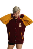 Xcoser Hotline Miami Main Character Jacket Button Cardigan Sweater Hotline Miami Unisex Cosplay Costume