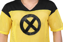 XCOSER Deadpool 2 Cosplay Deadpool Yellow Grid T-shirt Costume