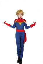 Halloween Cosplay XCOSER Marvel Comics Cosplay Captain Marvel Costume