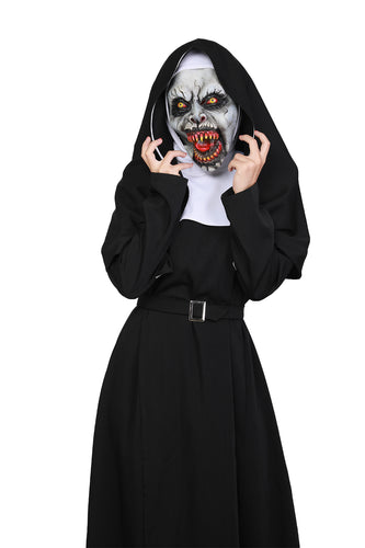 XCOSER The Nun Valak the nun Cosplay Costume