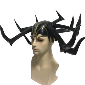 Thor: Ragnarok Hela Helmet for Women Cosplay Prop