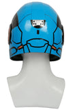 XCOSER Pacific Rim: Uprising Movie Cosplay Pentecost Blue Painting Helmet Pentecost Cosplay Costume Helmet