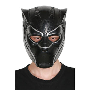XCOSER Hot New Arrival Black Panther Cosplay TChalla Latex Brand New Mask Black Panther Cosplay Costume Mask