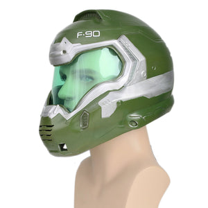 Doomguy Helmet Doom Game Cosplay Mask - Xcoser Costume