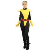 Marvel Comics Kitty Pryde Shadowcat Full Bodysuit Cosplay&Halloween Costume for Adult Women