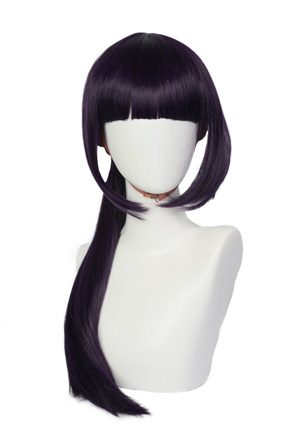 Halloween Cosplay XCOSER Deadpool 2 Cosplay Yukio Dark Purple Wig Cosplay Accessory