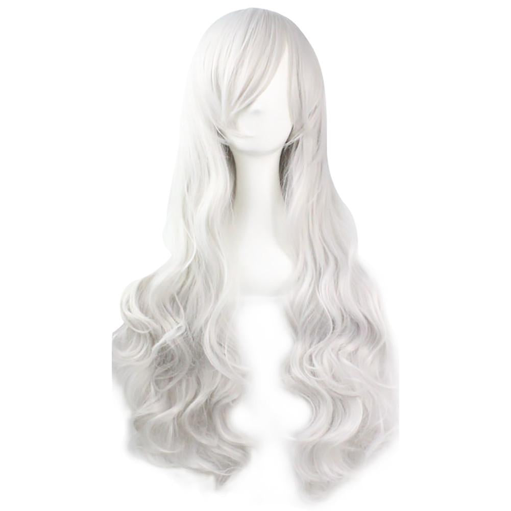 Black Cat White Wig Spiderman Cosplay