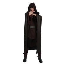 Xcoser Star Wars Episode VIII: The Last Jedi Cosplay Luke Brand New Dark Brown Costume