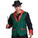 Carnival Party Cosplay Magician Costume for Men Adult