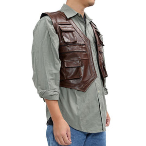 Chris Pratt Vest Jurassic World Costume Owen Grady Cosplay