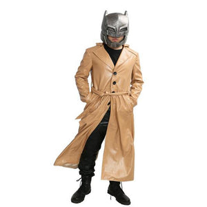 Batman v Superman Batman Yellow Long-coat Batman Cosplay Costume - Xcoser Costume