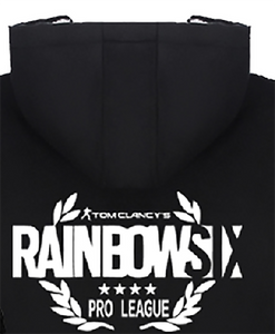 Rainbow Six Siege Hoodie Black Cotton Hoodie With Plush