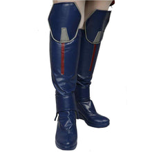 Halloween Cosplay XCOSER Ant-Man 2 Cosplay Wasp Dark Blue PU Boots Cosplay Props