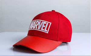 MARVEL  Embroidered Pattern Hat