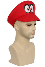 Xcoser Super Mario Bros Game Cosplay Red Linen Cloth Hat
