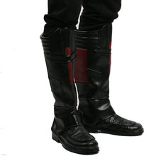 Halloween Cosplay XCOSER Ant-Man 2 Movie Cosplay Ant-Man Boots PU Knee-High Boost Cosplay Props