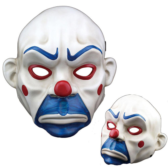 Halloween Cosplay Batman The Dark Knight Clown Robber Resin Mask