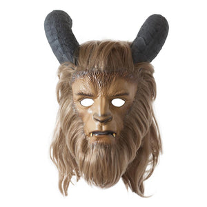 Beauty and the Beast Prince Adam Beast Luxury Cosplay Mask