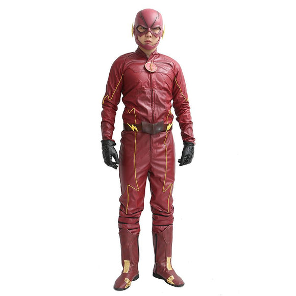 The Flash Red PU Costume