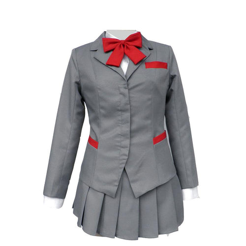 Bleach Cosplay Karakura High School Costume Mahana Natsui Girl Winter Uniform Dress