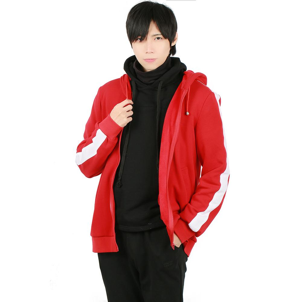 Xcoser The New Arrival Movie Coco Cosplay Miguel Red Cotton Coat Costume