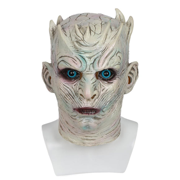 Xcoser Game of Thrones TV Cosplay Night's King Cool Latex Helmet