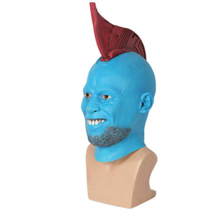 Yondu Latex Mask Head Fin Guardians of the Galaxy Cosplay