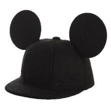 Disney Mickey Mouse Ears Hat Cute Wool Snapback Cap with Velcro Closure Kids Size - Xcoser Costume