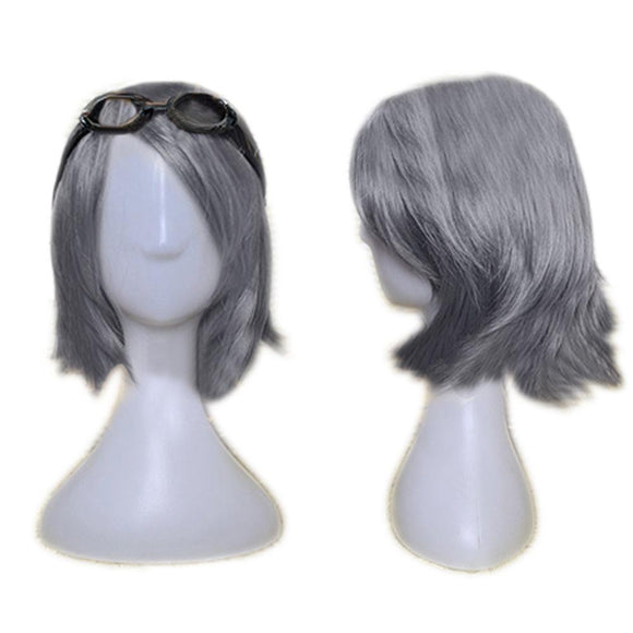 Quicksilver Cosplay Wig Inclined Bang Short Wig