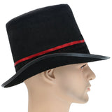 Charlie and the Chocolate Factory Willy Wonka Hat Black Top Hat Cosplay Costume Accessories
