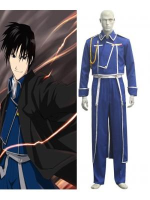 FullMetal Alchemist Roy Mustang Military Cosplay Costume - Xcoser Costume