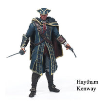 Assassin Creed Action Figure Connor Action figure, Edward, Haytham Figure Toys - Xcoser Costume