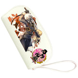 Touken Ranbu Wallet Anime Zip Around Tri-fold Long PU Wallet Purse Pink