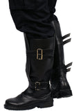Kylo Ren Riding Boot Deluxe Adult Black PU Boots Movie Star Wars Cosplay Shoes - Xcoser Costume