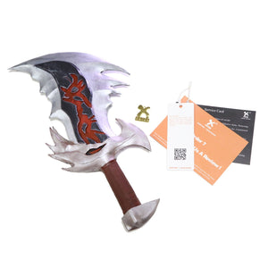 Kratos Blades God of War Cosplay Blades of Chaos Replica EVA Weapon Cosplay Props - Xcoser Costume