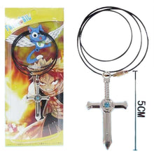 Gray Fullbuster Necklace Fairy Tail Gray Cosplay Alloy Cross Necklace Pendant - Xcoser Costume