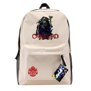 Overlord Backpack Anime Oxford Fabric Thickening Strap School Travel Bag Laptop Leisure Backpack - Xcoser Costume