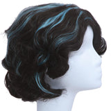 Miss Peregrine wig Miss Peregrine's Home for Peculiar Children Cosplay Black Short Hair Accessories - Xcoser Costume