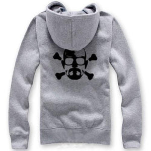 Breaking Bad Hoodie Walter Skull Pattern Jacket