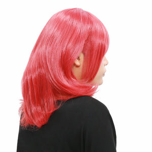 Anime Love Live Maki Nishikino Wig Short Watermelon Red Wavy Wig - Xcoser Costume