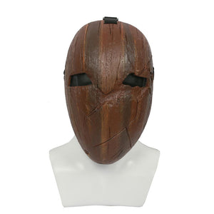 Xcoser Absolver Game Cosplay Brown Resin Mask