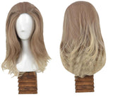 Invisible Woman Cosplay Fantastic Four Sue Storm Gray Medium Long Hair Halloween Costume Wig - Xcoser Costume