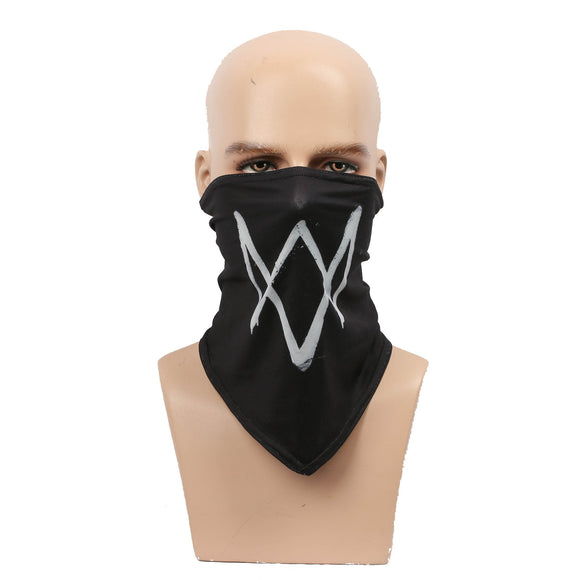 Watch Dogs 2 Marcus Holloway Scarf Face Mask Marcus Holloway Cosplay Props