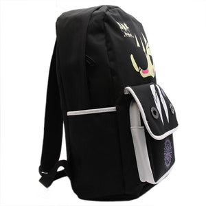 Black Butler Backpack Cute Cartoon Black Anime Canvas Backpack For School - Xcoser Costume