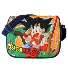 Dragon Ball Z Bag Goku Anime Shoulder Messenger Bag Oxford Fabric School Bag - Xcoser Costume