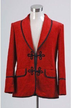 Doctor Who 3rd Ver Doctor Red Jacket Coat Costume - Xcoser Costume
